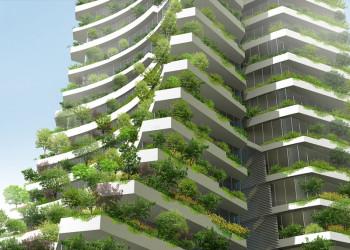 Jardineras En Fachada De Un Edificio En Régimen De Propiedad
